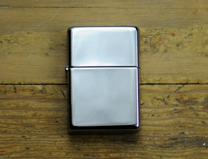 Zippo-Lighter-Vintage-Polished-Chrome-vintage-lacliniquefinestore