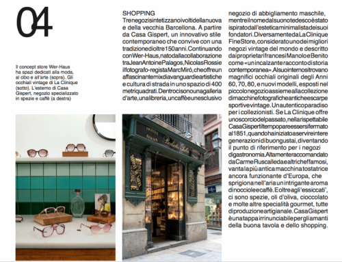 "Corriere Della Sera  : ""LA CLINIQUE…one of the best vintage business in the world."""