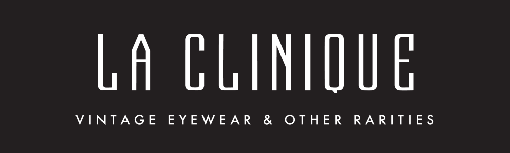 Original Vintage Eyewear and Designer Vintage Sunglasses Specialist – LA CLINIQUE fine store – Barcelona